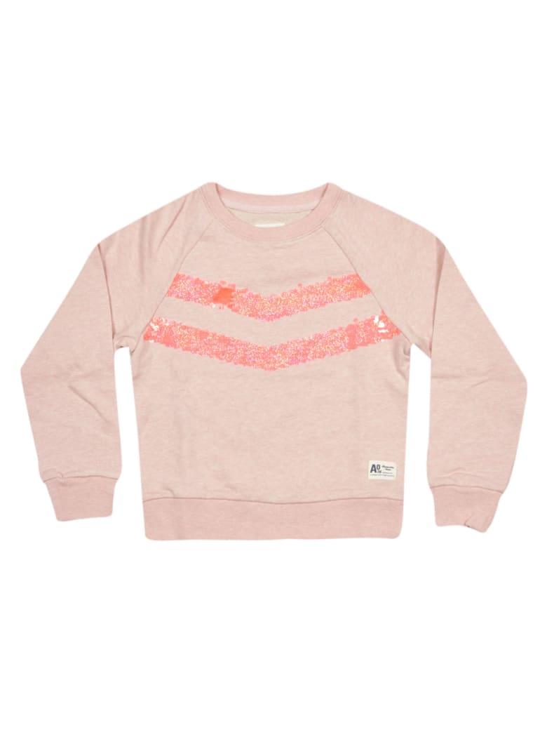 AO76 Embroidered Sweatshirt - Pink