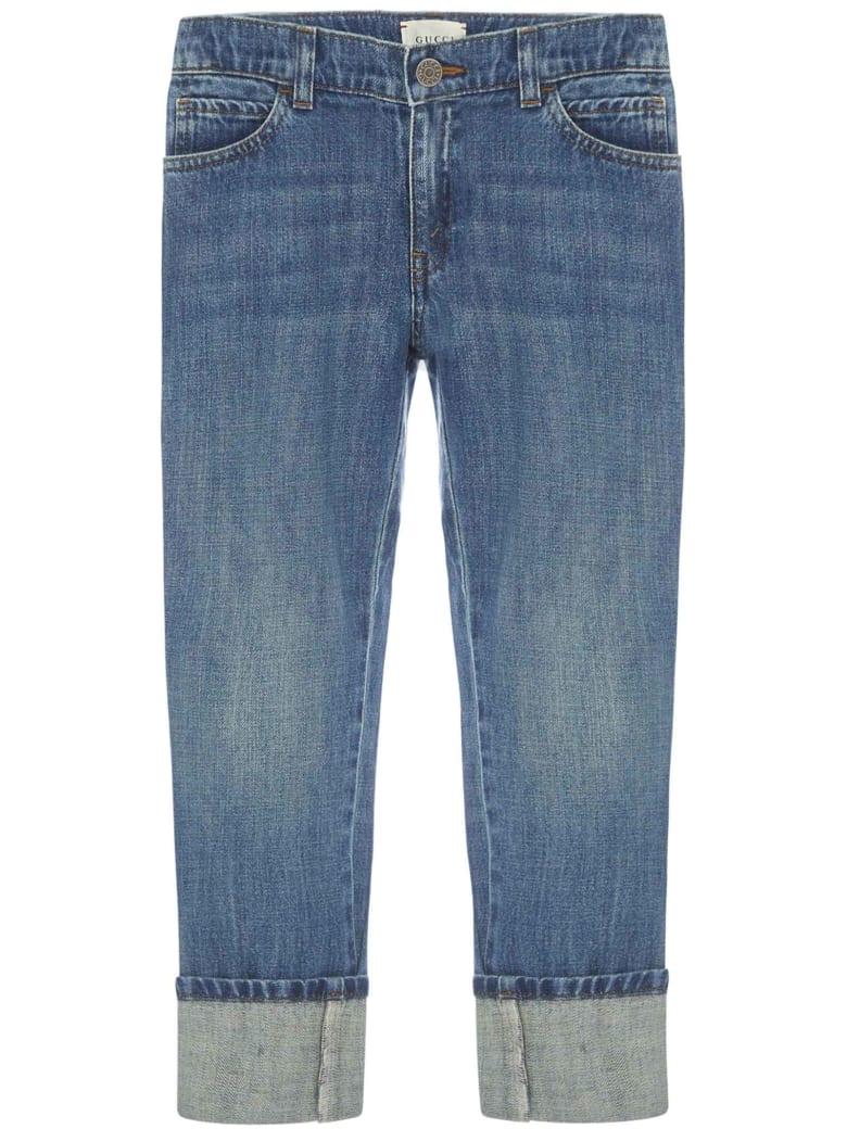 Gucci Junior Jeans - Orbit/verde/rosso