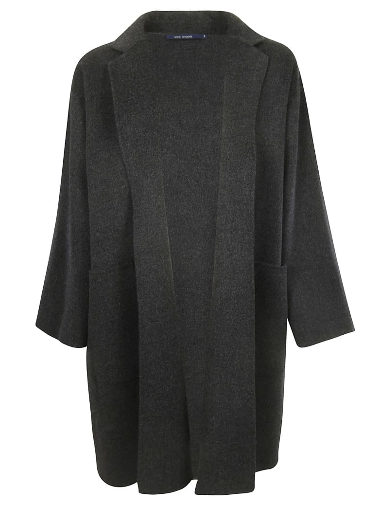 Sofie d'Hoore Care Coat - Anthracite