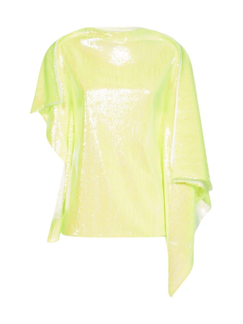 MM6 Maison Margiela Sequins Sweater - Yellow