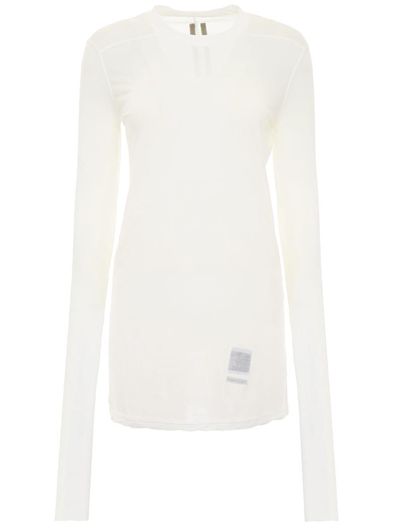 DRKSHDW Long-sleeved T-shirt - MILK (White)