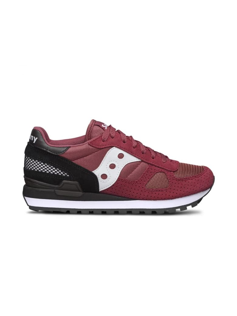 best website e1e68 9fb54 Best price on the market at italist | Saucony Saucony Saucony Originals  Shadow O' Garnet Red/black