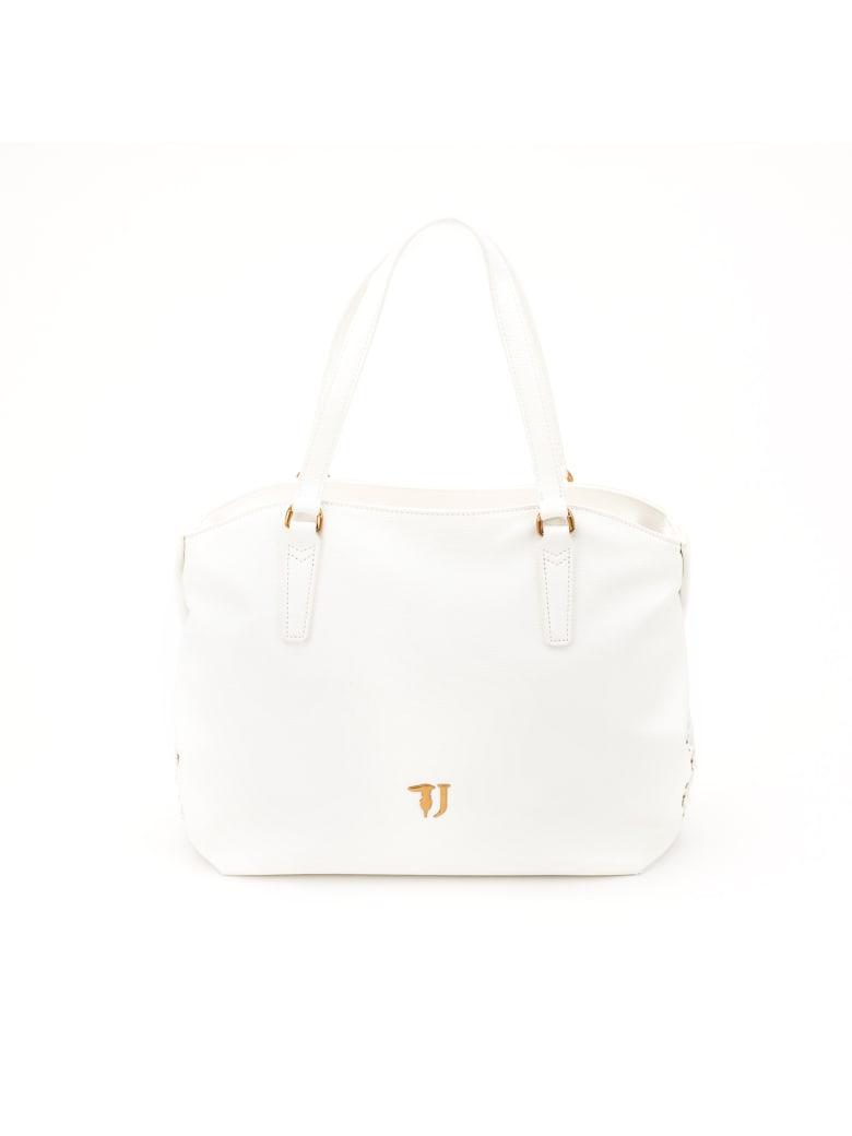 Trussardi Lavanda Tote Bag - WHITE