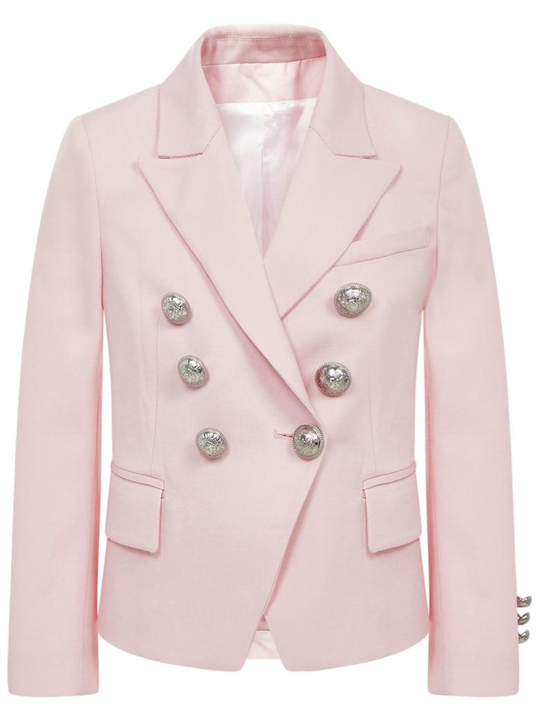 Balmain Paris Kids Blazer - Pink