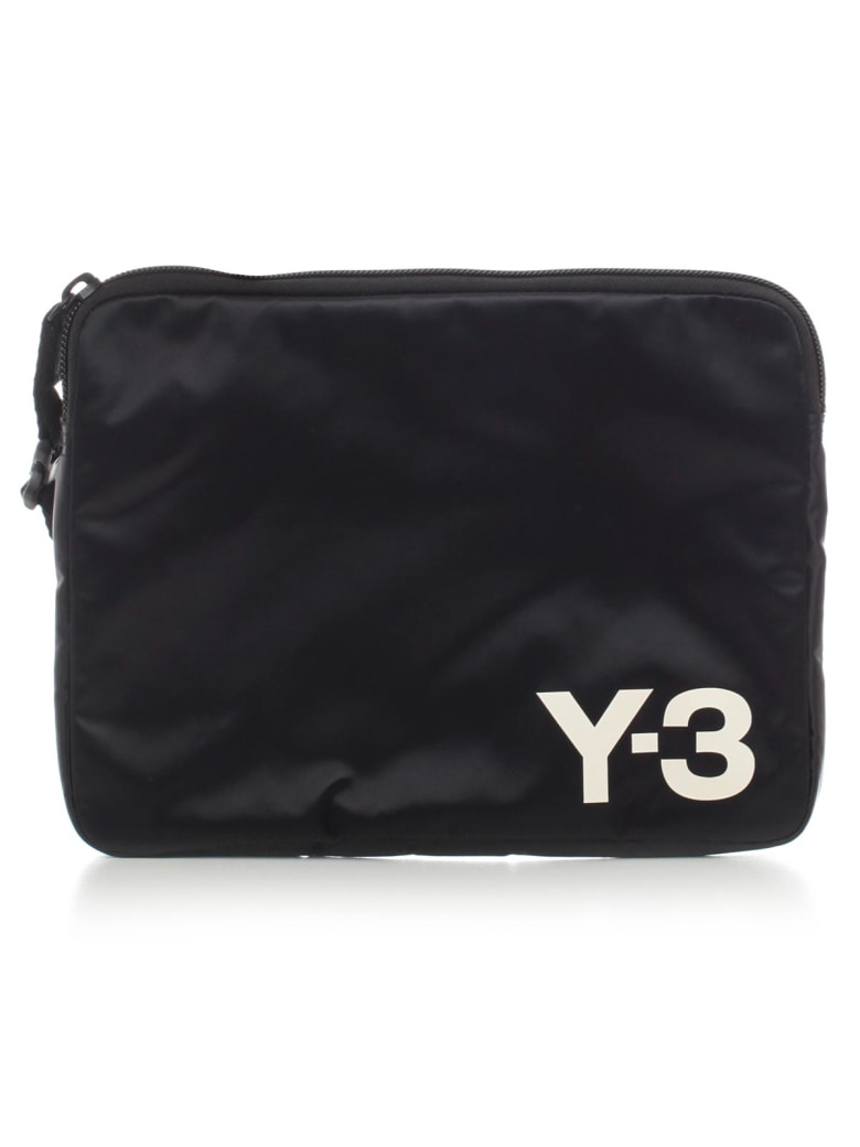 Y-3 Pouch Travel Bag - Ftwr White