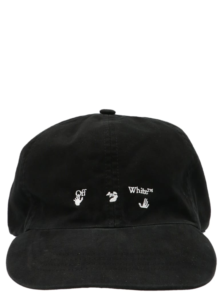 Off-White 'ow Logo' Cap - Nero