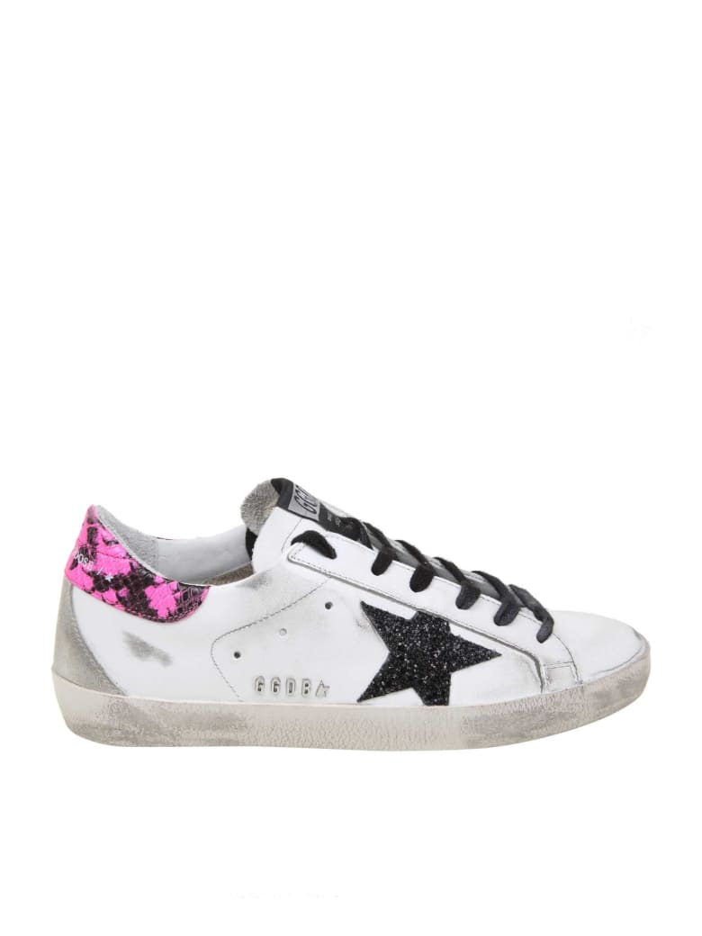 Golden Goose Superstar Sneakers In White Color Leather - White