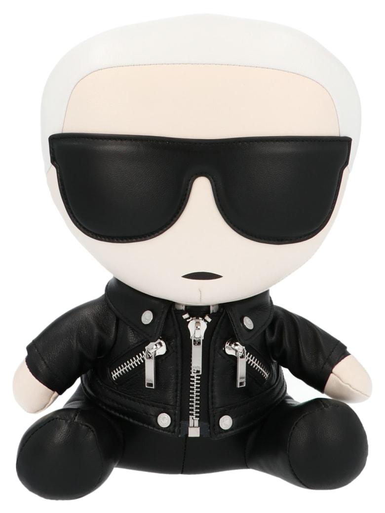 Karl Lagerfeld 'ikonik Karl' Door Stop - Black&White