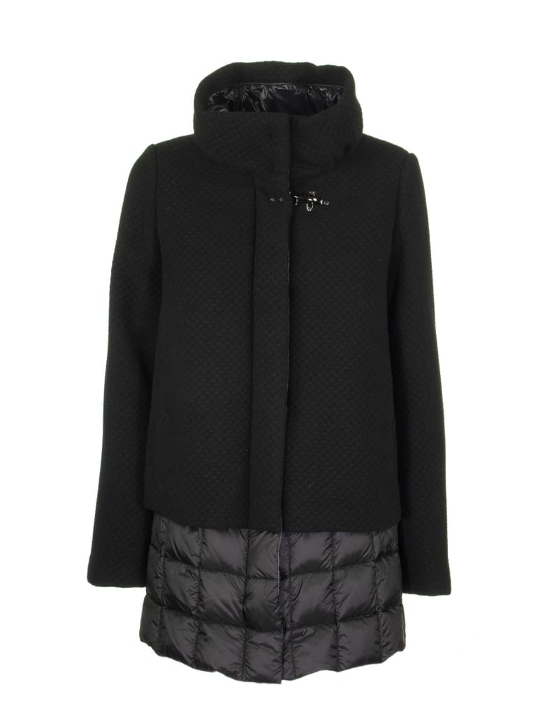 Fay Jackets Down Black - Black