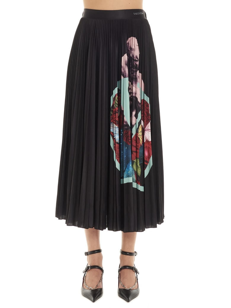 Valentino 'lovers' Skirt - Black