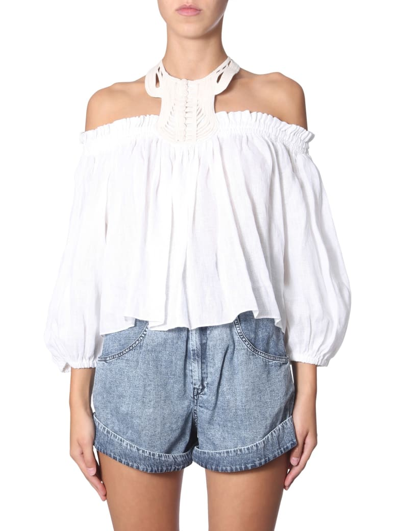 Isabel Marant Goundy Top - BIANCO
