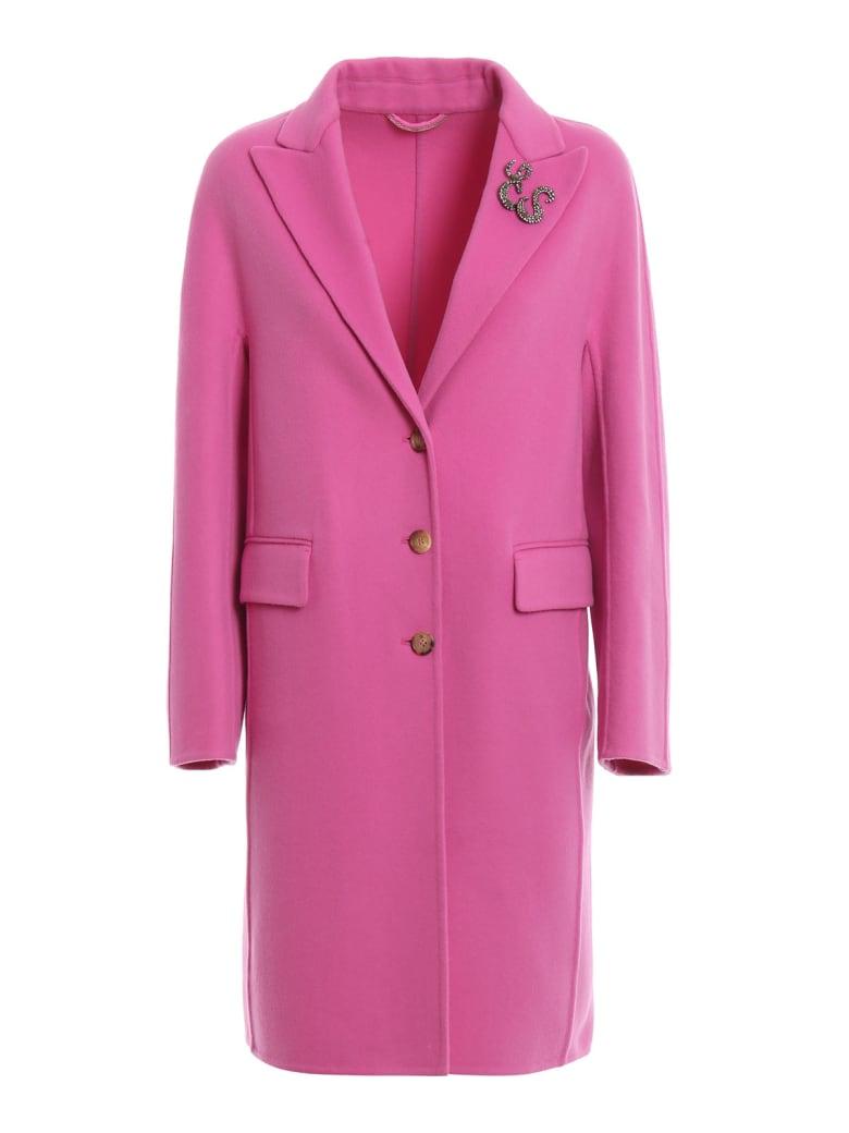Ermanno Scervino Single Breast Coat - Pink