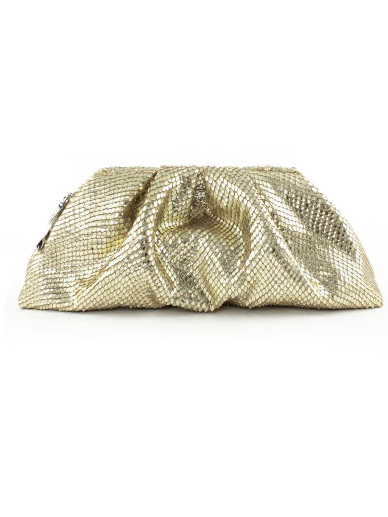 Giuseppe Zanotti Gold Tomato Clutch Bag - Oro