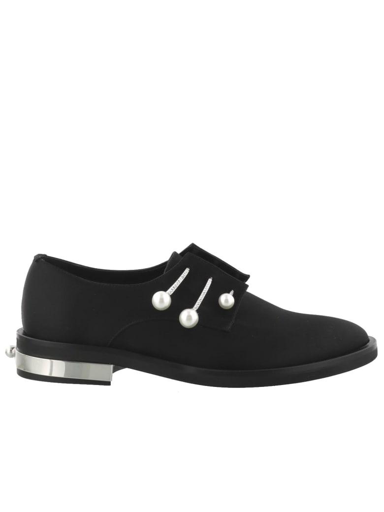 Coliac Fernanda Laced Up Shoes - Black