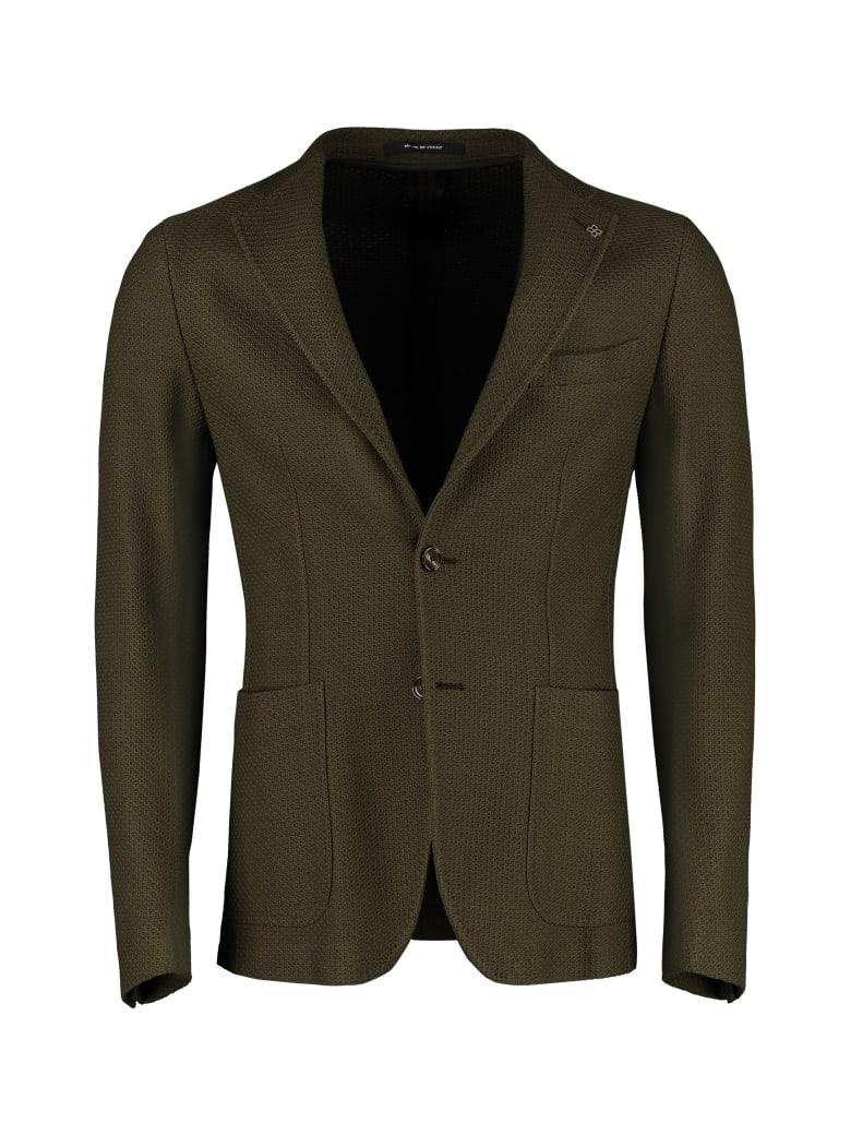 Tagliatore Single-breasted Two-button Blazer - green