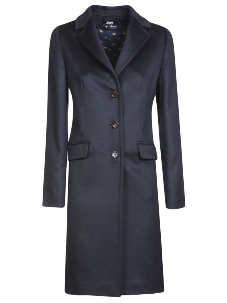 Eddy Monetti Three-Button Coat - Blue