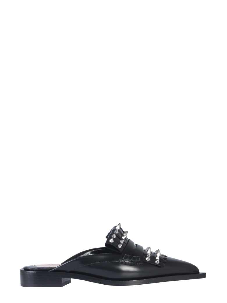 Alexander McQueen Leather Sandals - NERO
