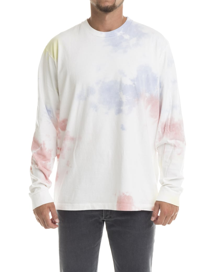 John Elliott Ls University Tee Ink Bloom - Ink Bloom
