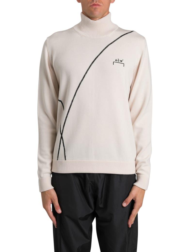 A-COLD-WALL Intarsia Sweater - Bianco