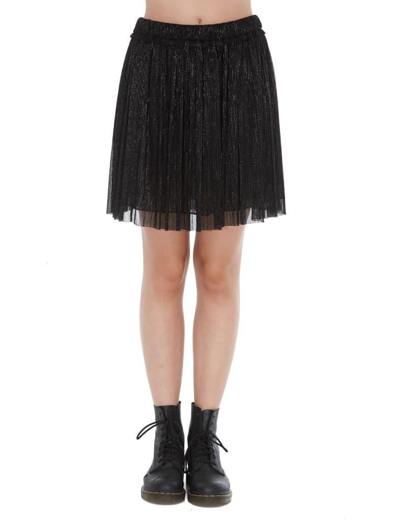 Isabel Marant Étoile Mini Metal Effect Benedicte Skirt - Black