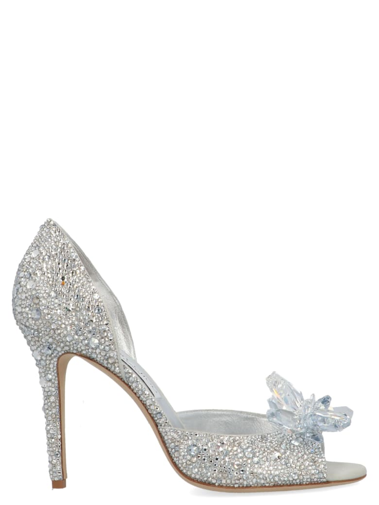 Jimmy Choo 'cinderella' Shoes - Silver