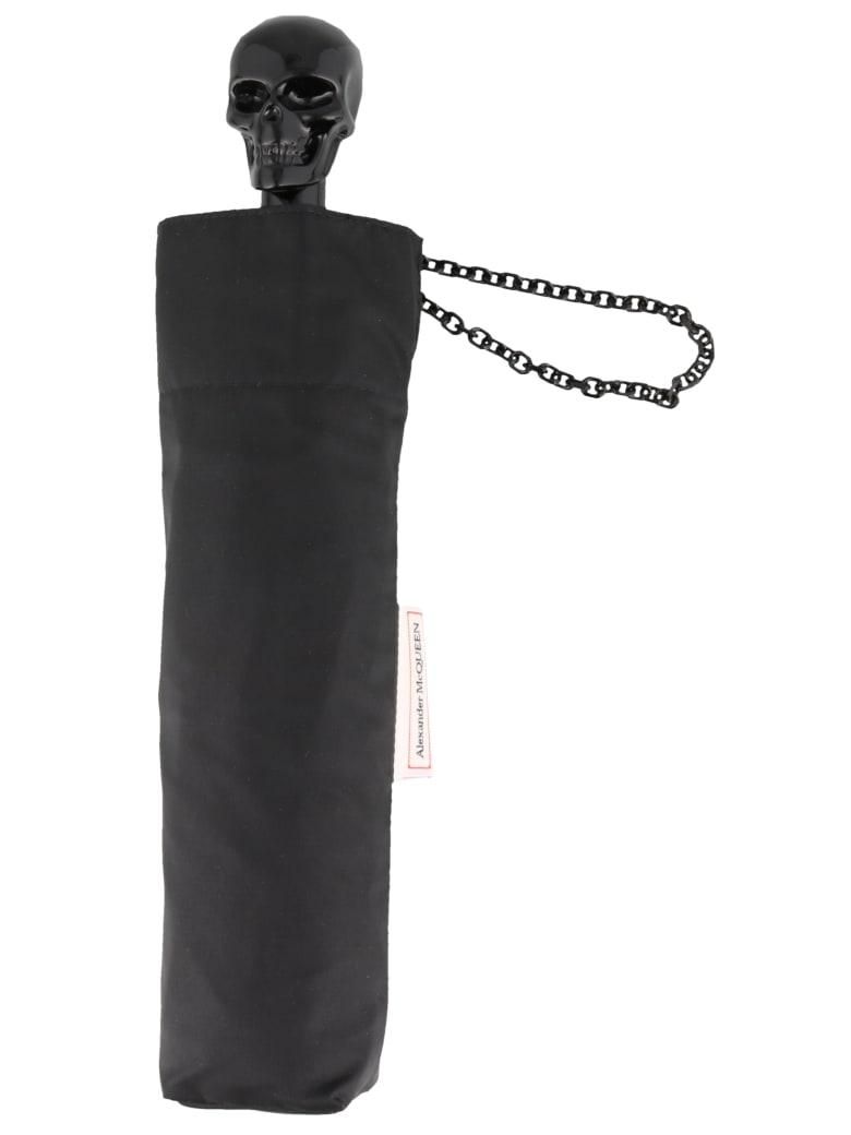 Alexander McQueen Skull Umbrella - Black