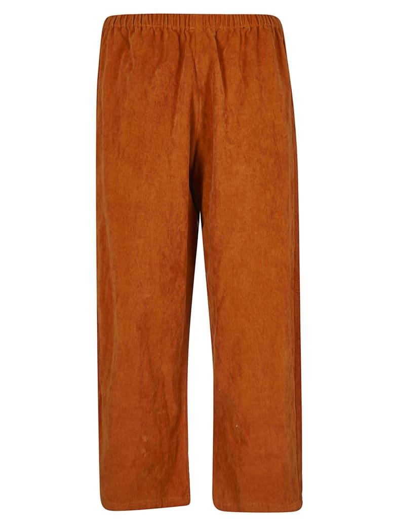 A Punto B Elasticated Cropped Trousers - Orange