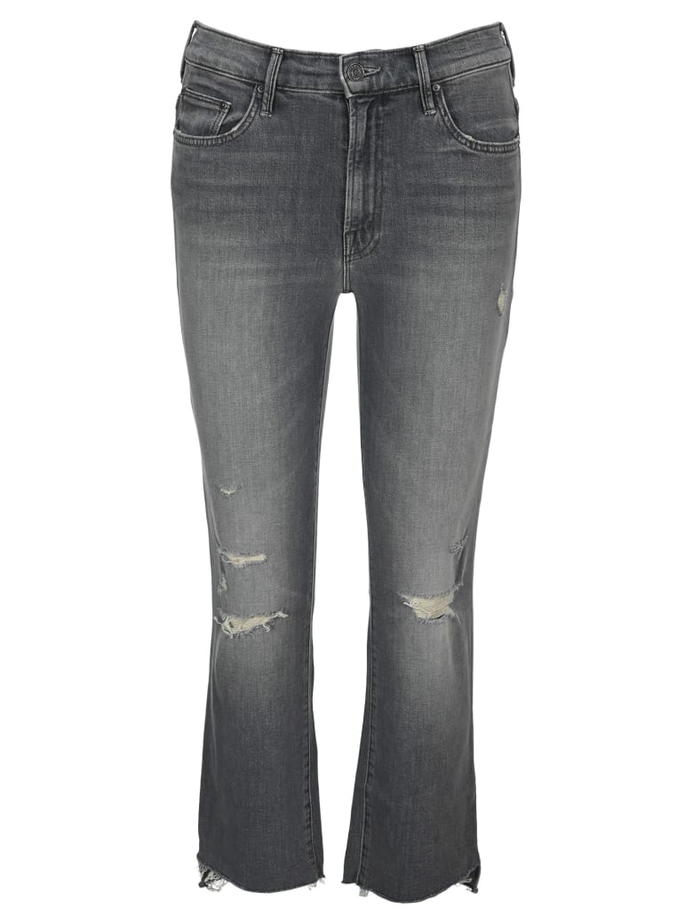 Mother The Insider Cropped Jeans - ACE OF SPADES