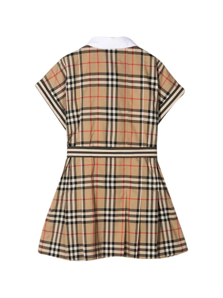 Burberry Vintage Check Dress - BROWN