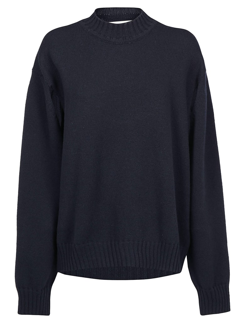 Jil Sander Sweater - Dark blue