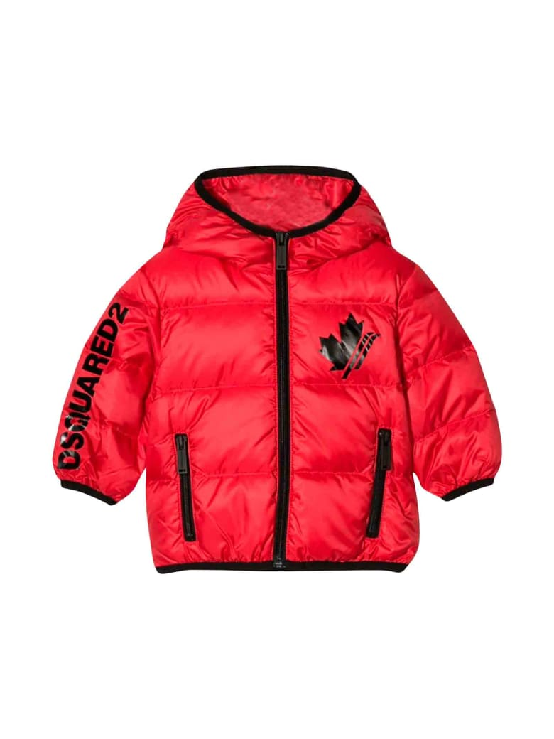 Dsquared2 Red Jacket - Unica