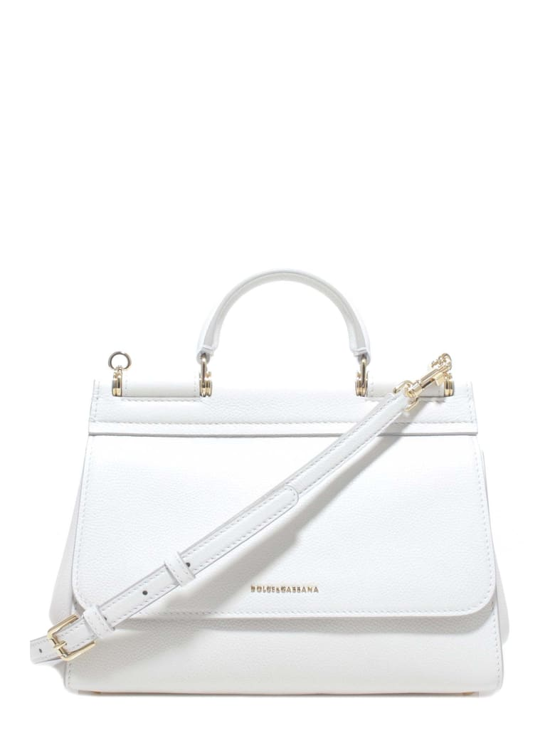 Dolce & Gabbana Sicily Handbag - White
