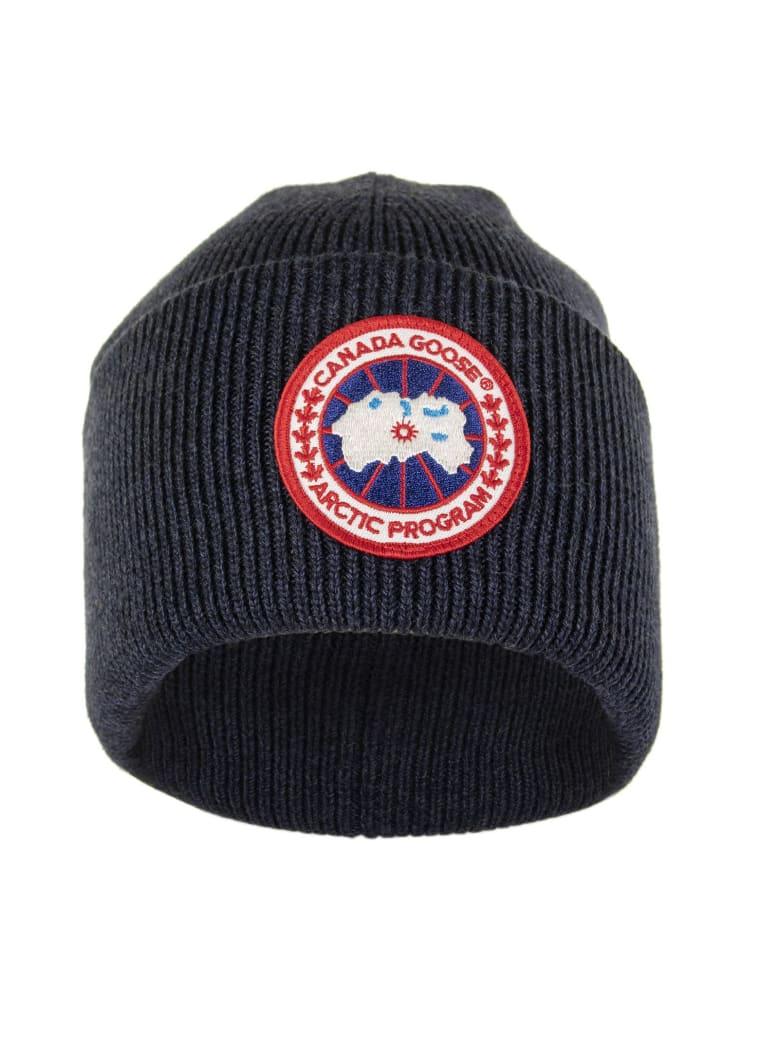 Canada Goose Arctic Disc Toque Navy Melange Hat - Navy Melange