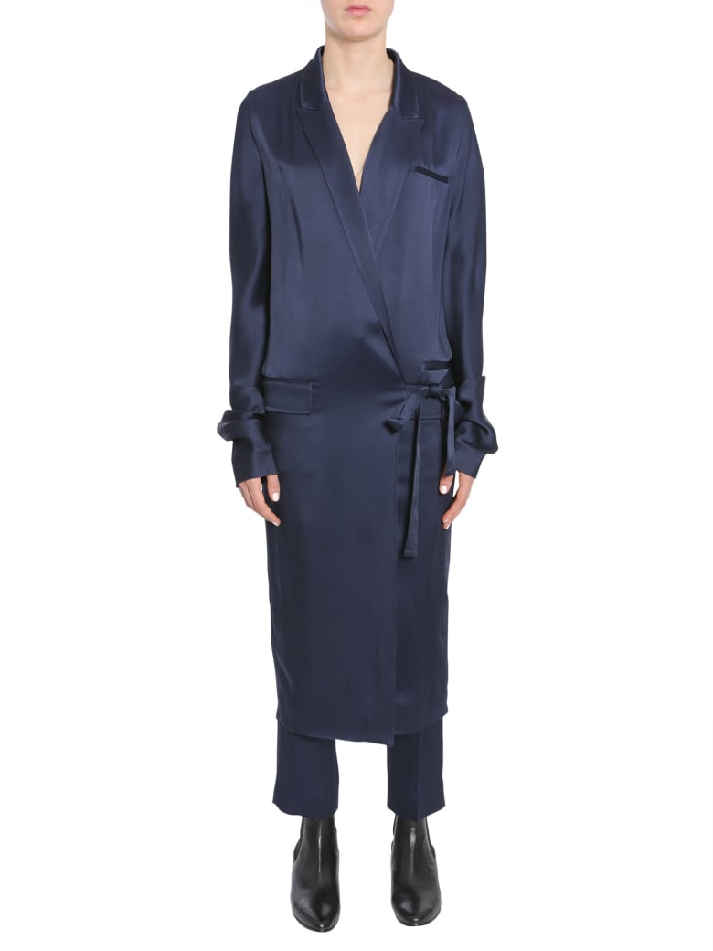 Haider Ackermann Kuiper Dress - BLU