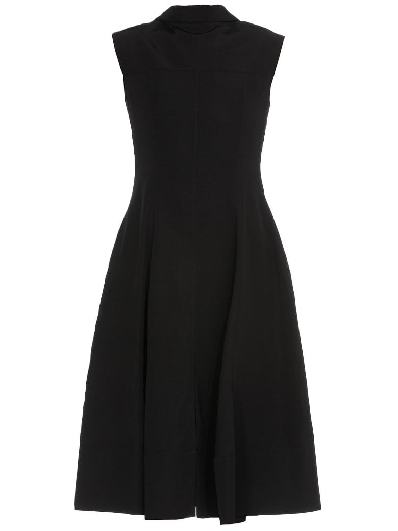 Jil Sander Long Dress - BLACK