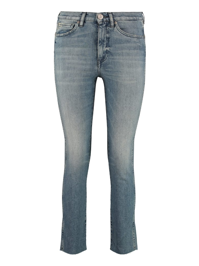 3x1 High-rise Straight Ankle Jeans - Denim