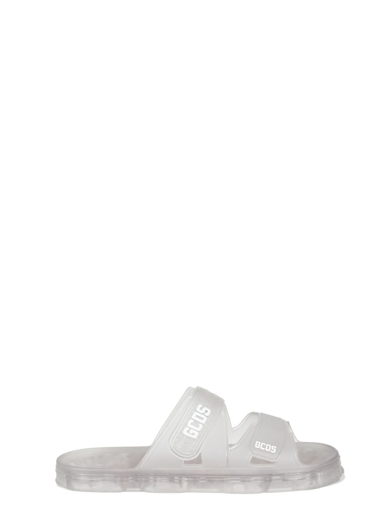 GCDS Rubber Sandals - Trasparente