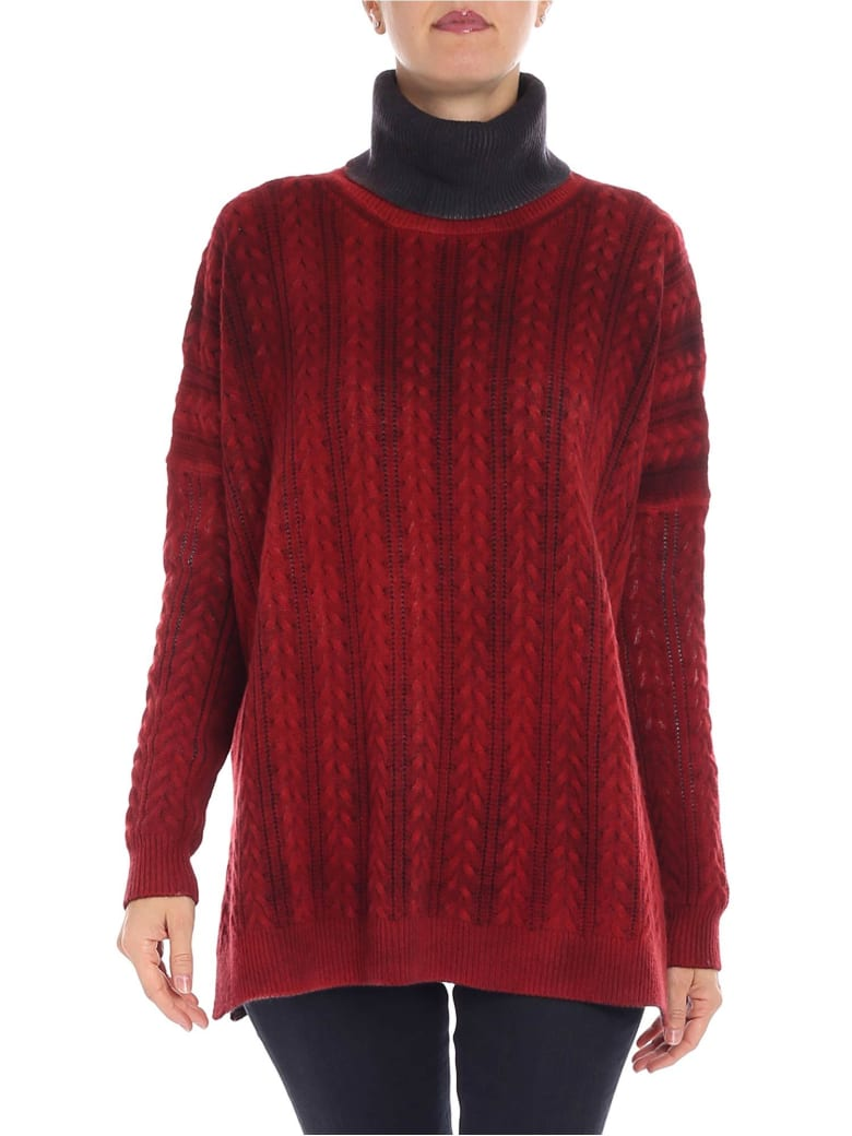Avant Toi - Sweater - Red