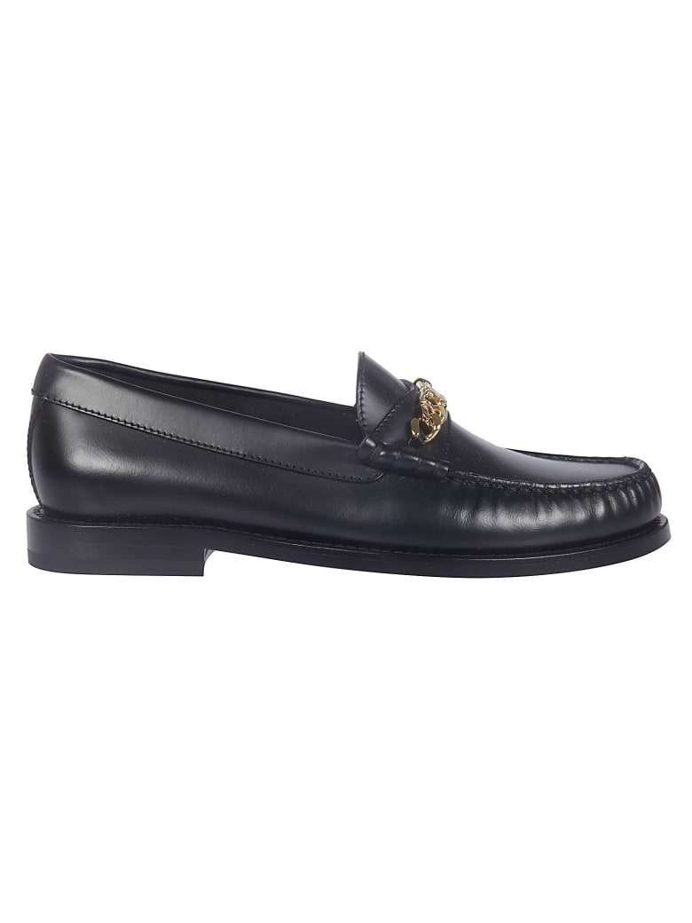Celine Chain Triomphe Loafers - No Black