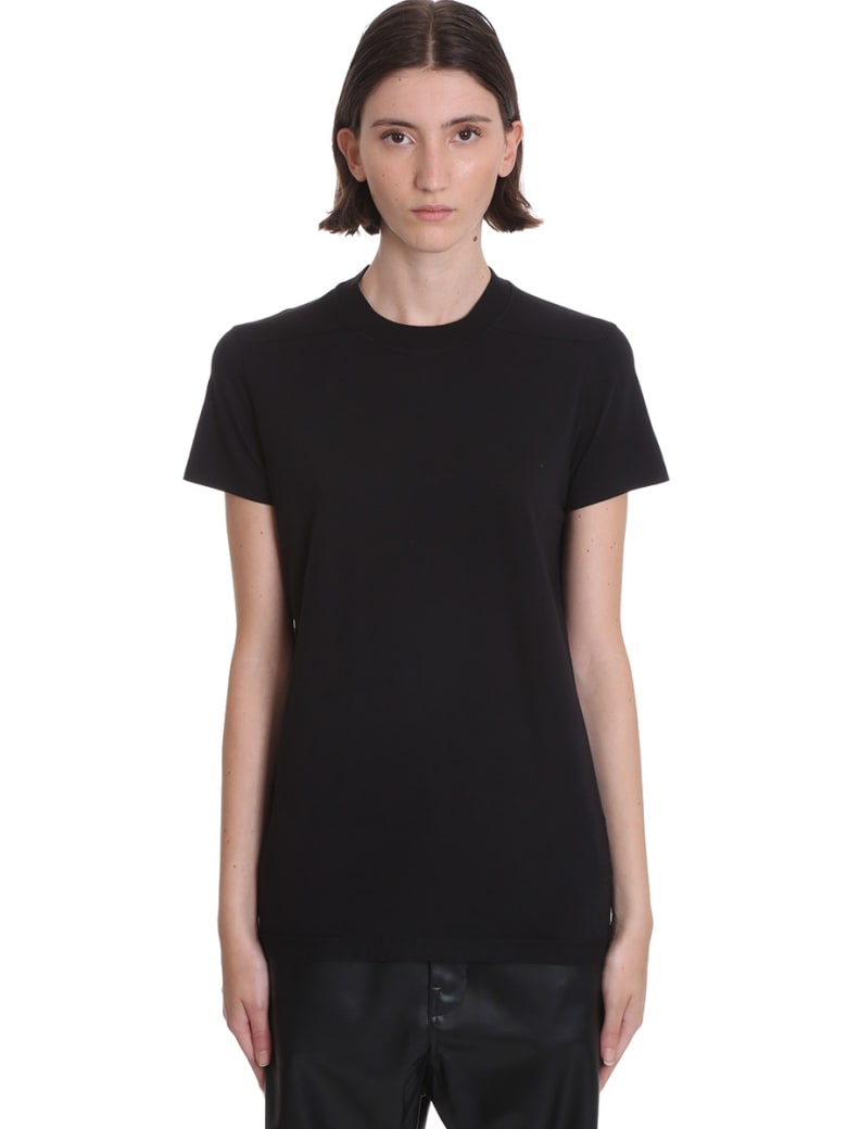 DRKSHDW Ss Crew Level  T-shirt In Black Cotton - black