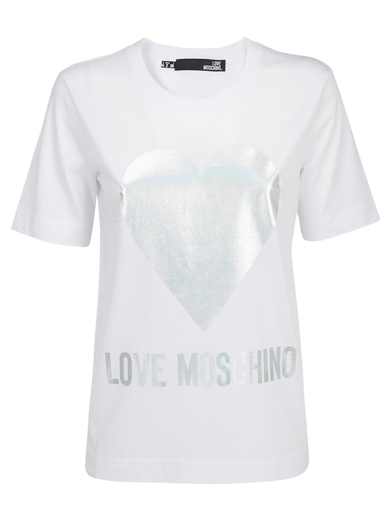 Love Moschino T-shirt - Optical white