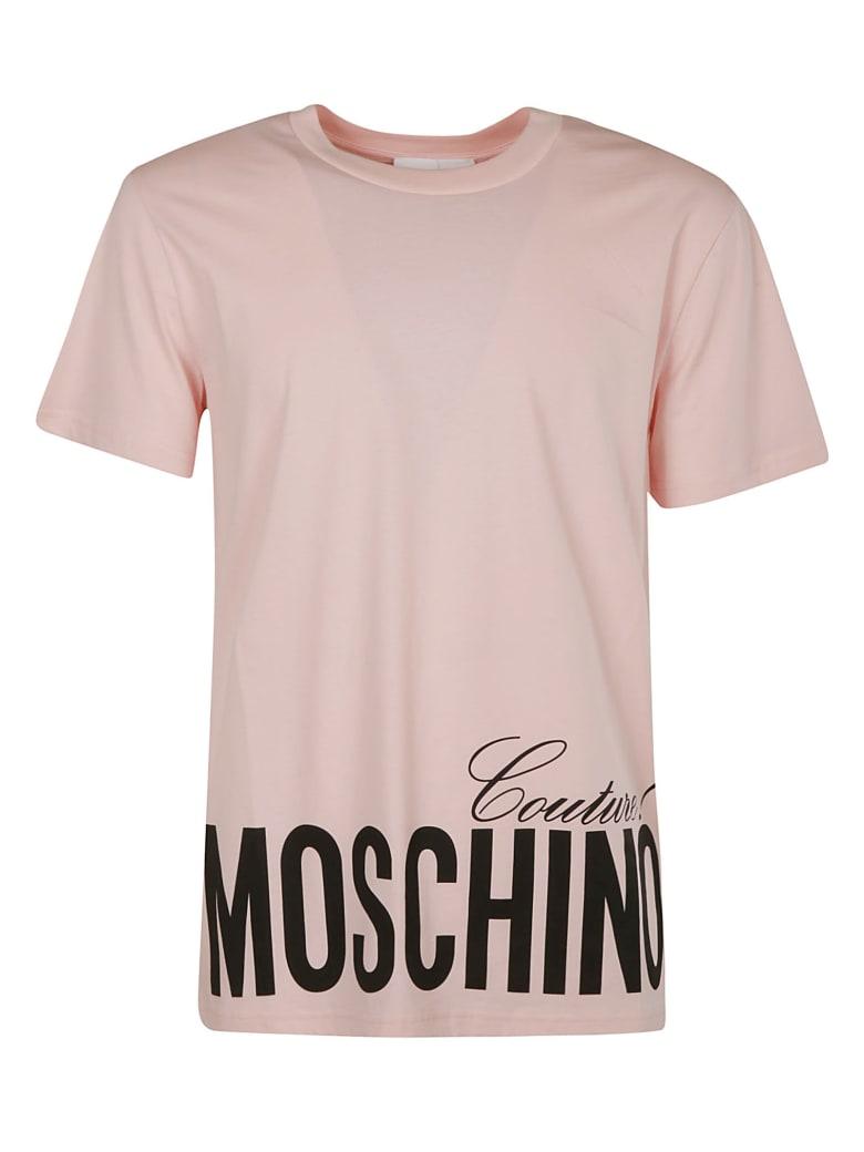 Moschino Couture! Logo Bottom Print T-shirt - pink