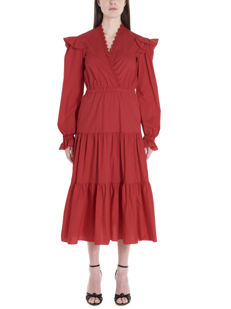 Philosophy di Lorenzo Serafini Dress - Red