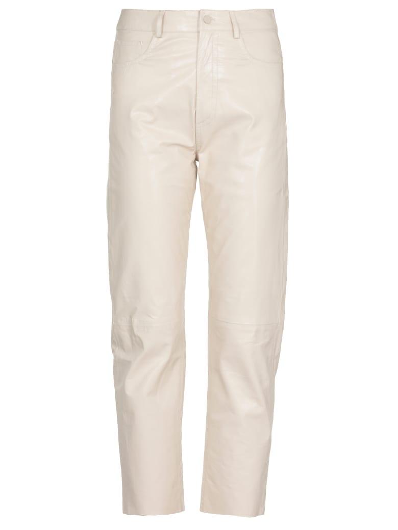 DROMe Leather Trousers - Milk