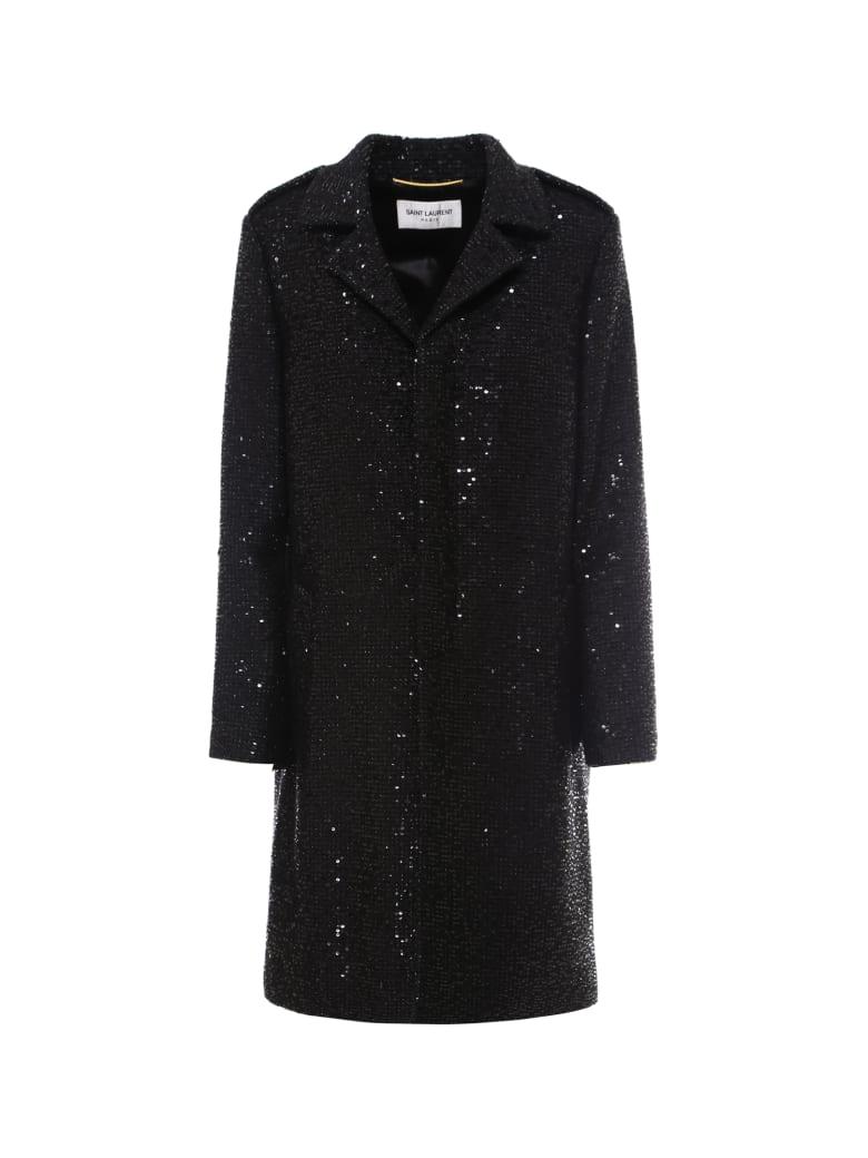 Saint Laurent Coat - Black