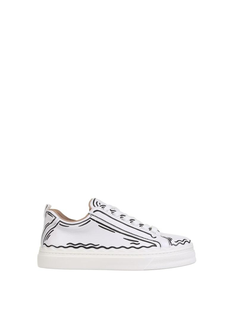 Chloé Sneaker Lauren - Bianco