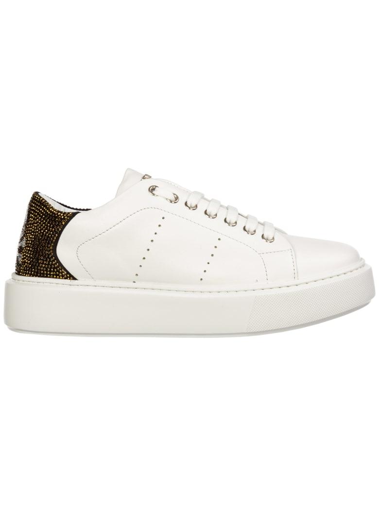 Philipp Plein Skull Sneakers - White