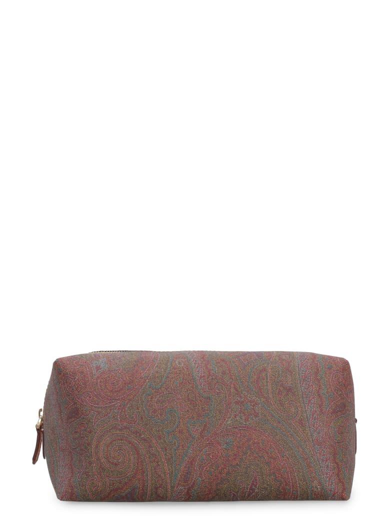 Etro Paisley Print Wash Bag - Multicolor