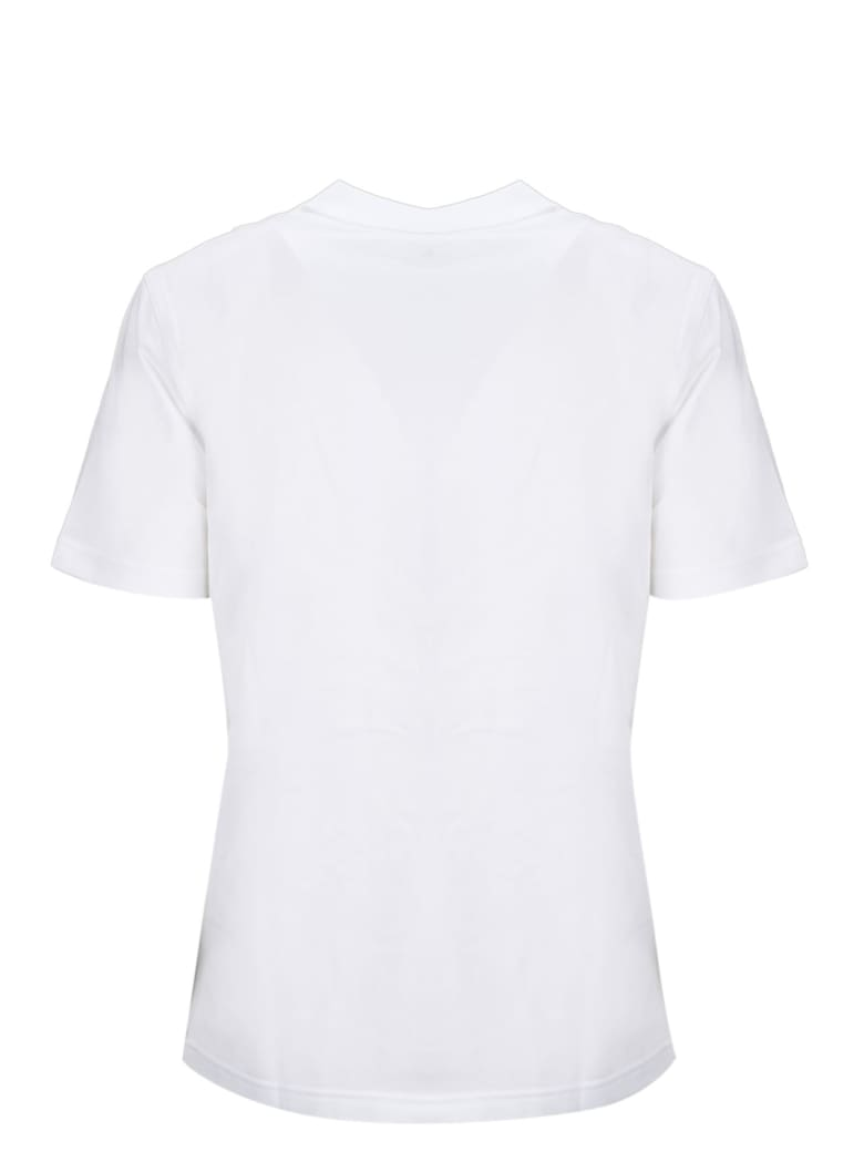 Burberry Short Sleeve T-Shirt - White