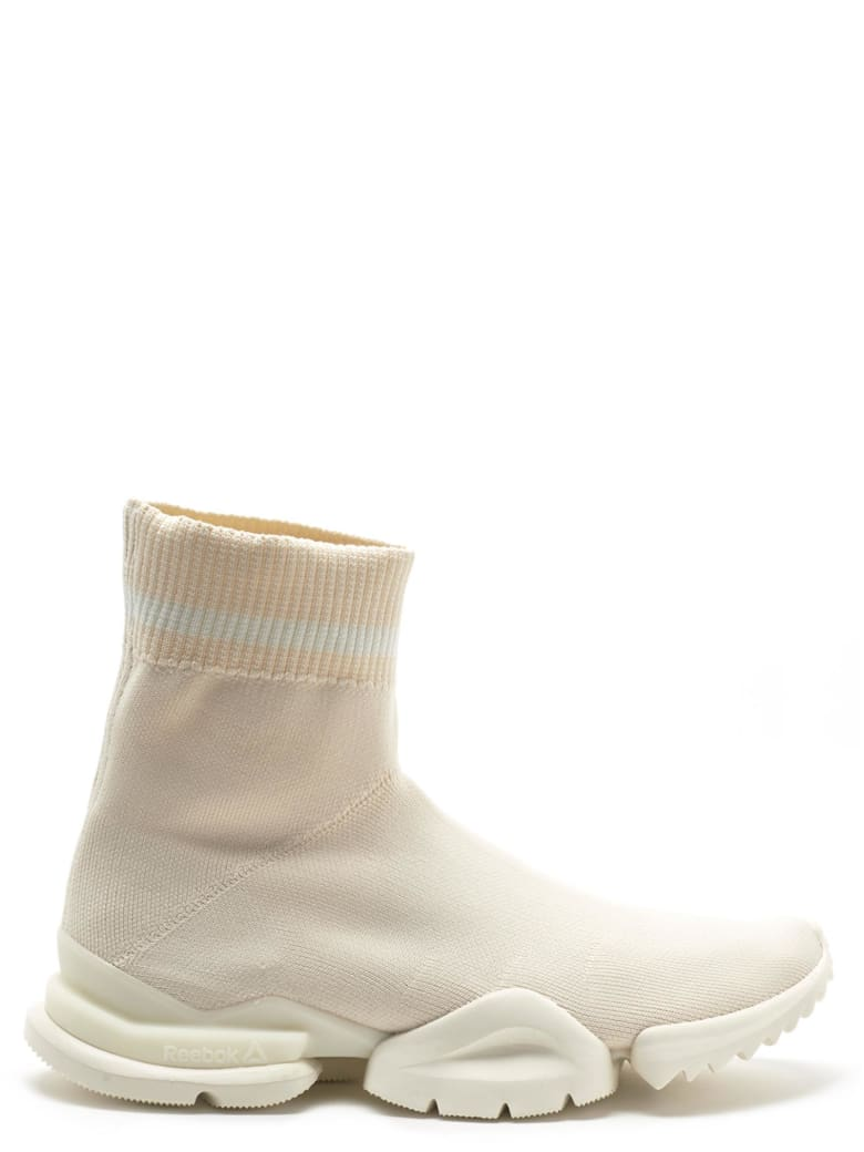 Reebok Reebok 'sock Run' Shoes - Beige